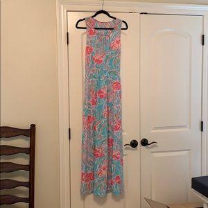 Lilly Pulitzer Cotton Maxi Dress!